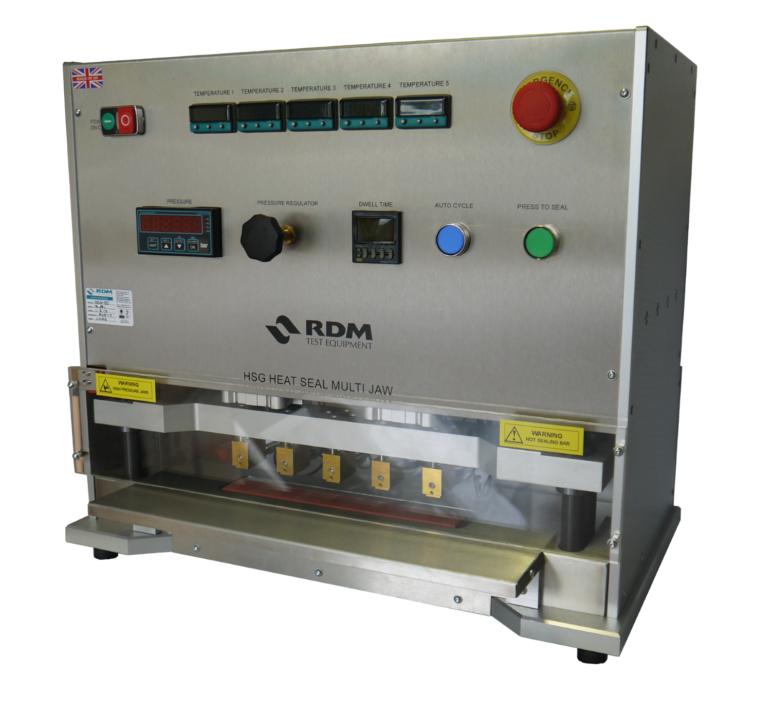 RDM HSG-3/HSG-5 Gradient Heat Sealer